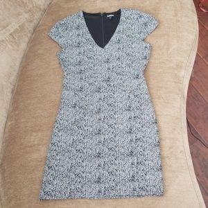 EXPRESS Black/white dress